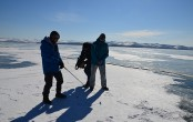 Baikal Ice Golf training 2018